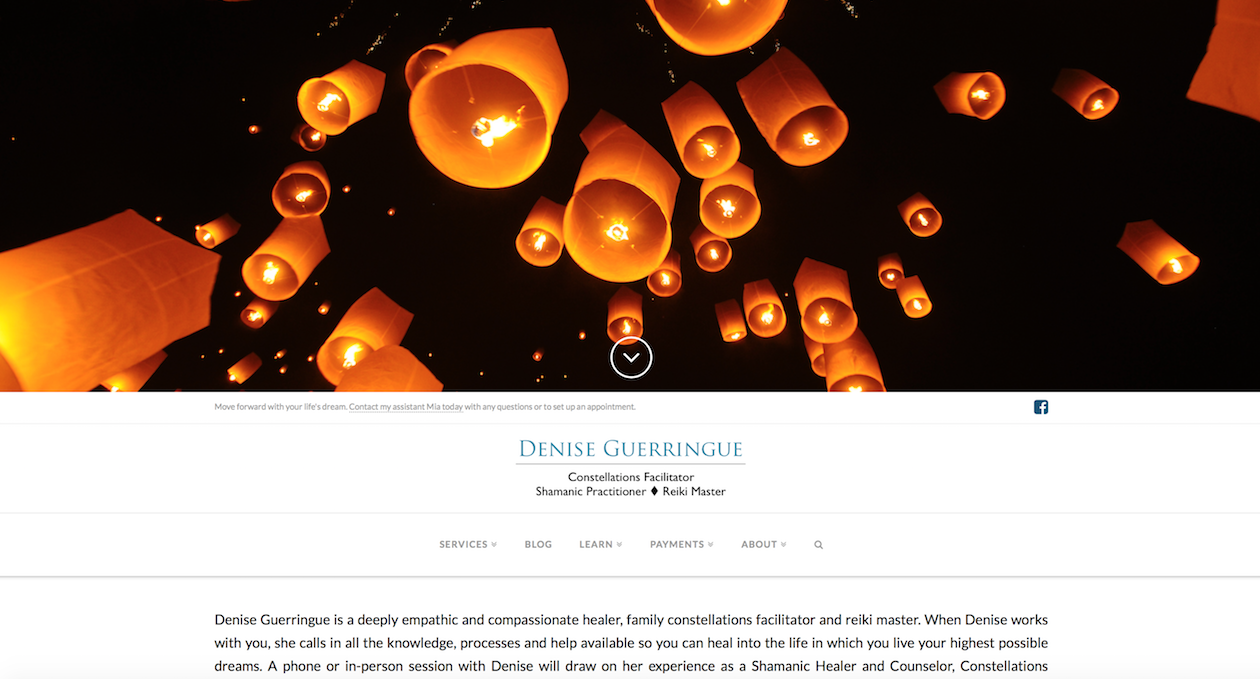 Portfolio-Denise Guerringue_home